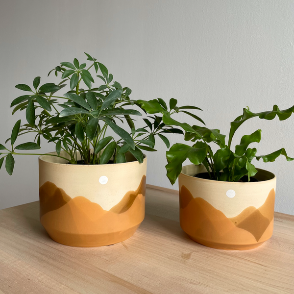 Ava Ceramics: Inyo Mountain Planters