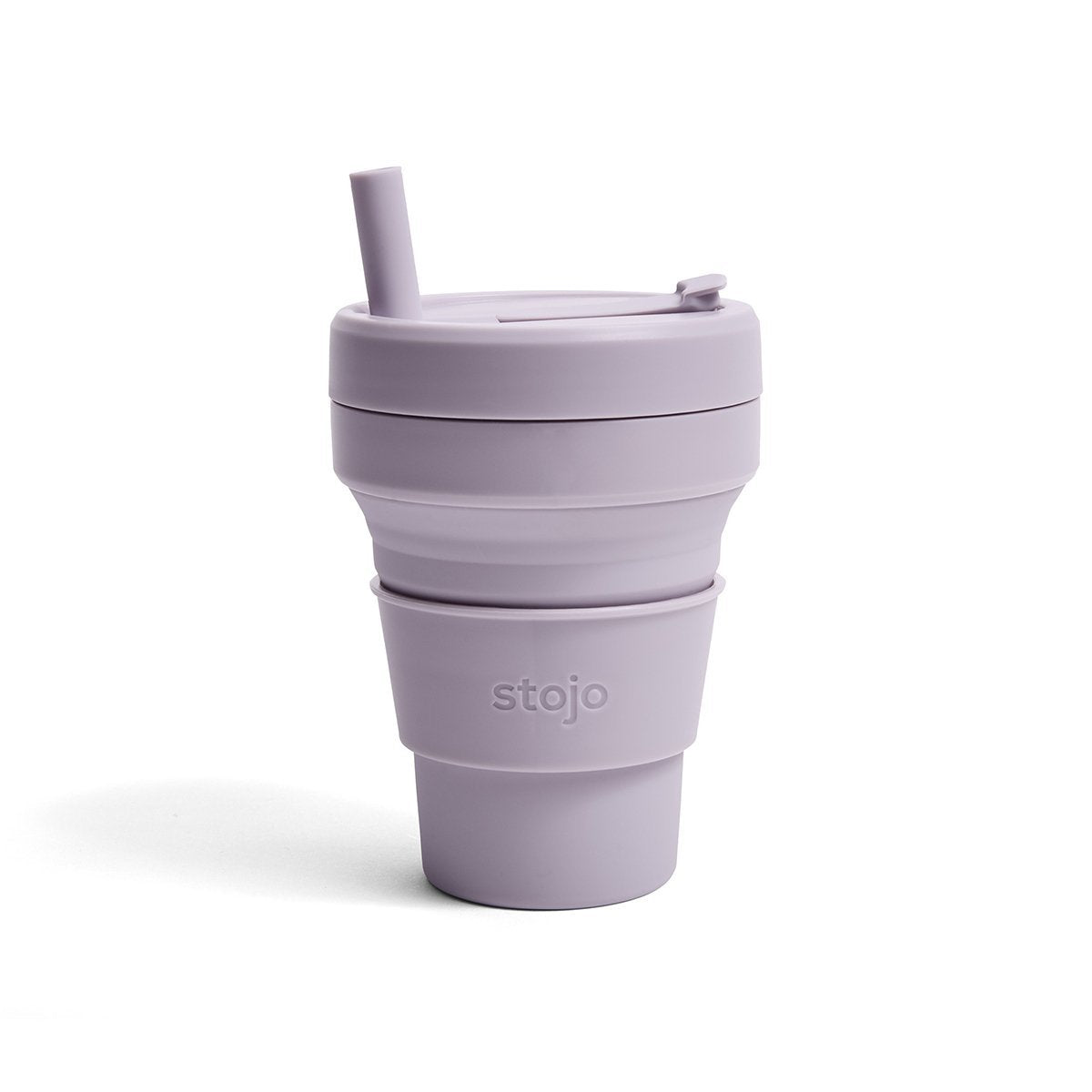 Stojo: 16 oz. Collapsible Cup in Lilac