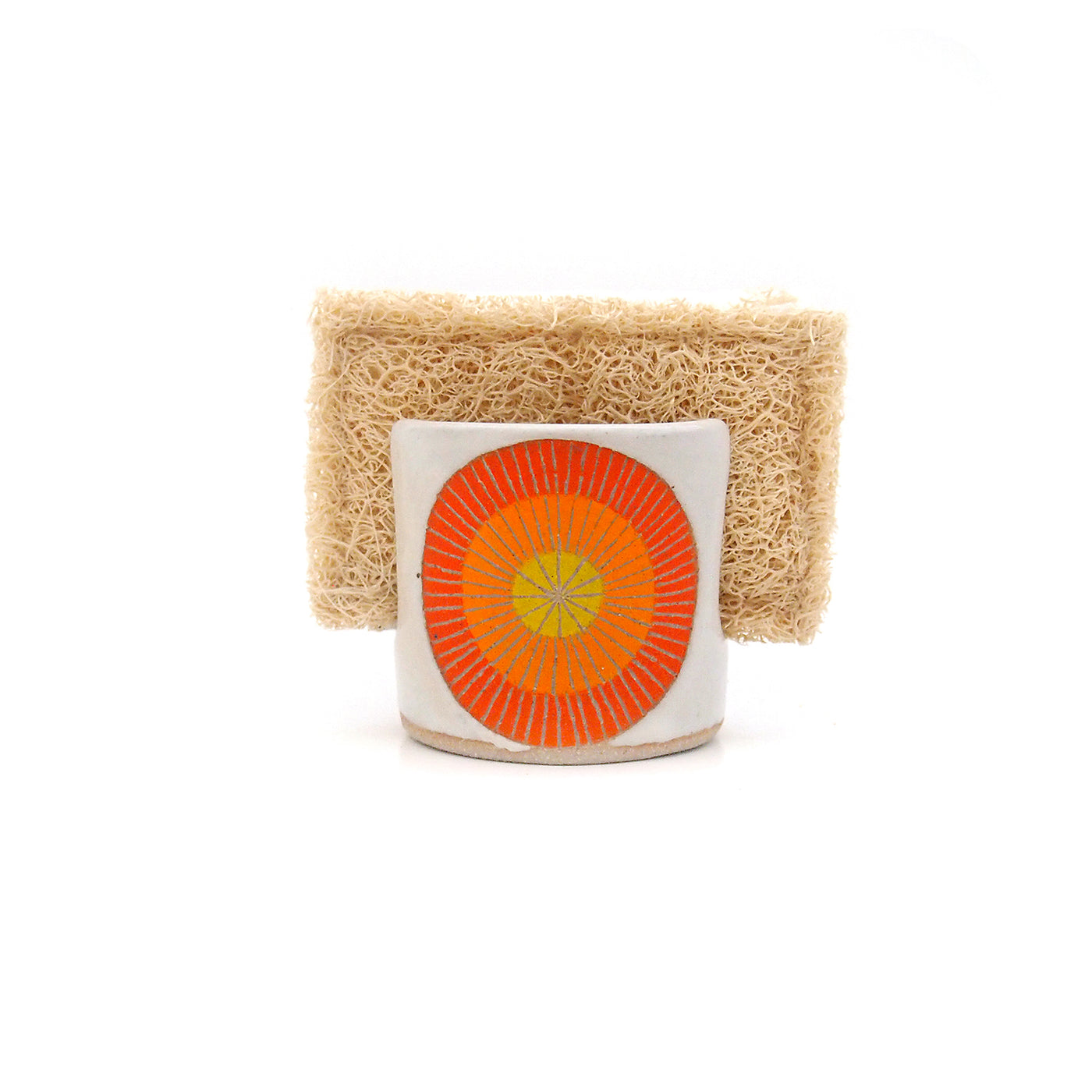 jen e ceramics: Sunrise Sponge Holder