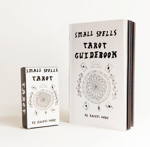 Small Spells: Black & White Tarot Card Set