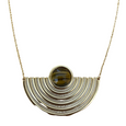 Amano Studio: Baja Del Sol Tiger's Eye Necklace