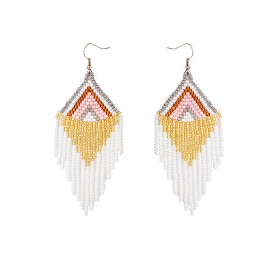 Fosterie: Rosavie Beaded Earrings