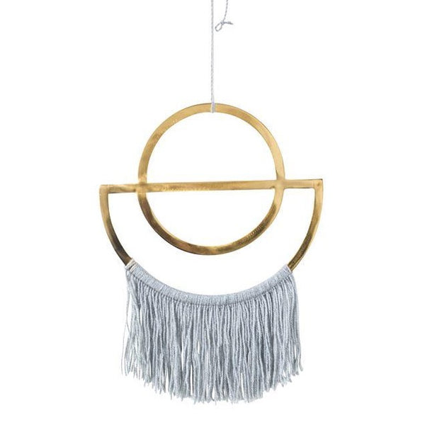Eclipse Wall Hanging with Fringe