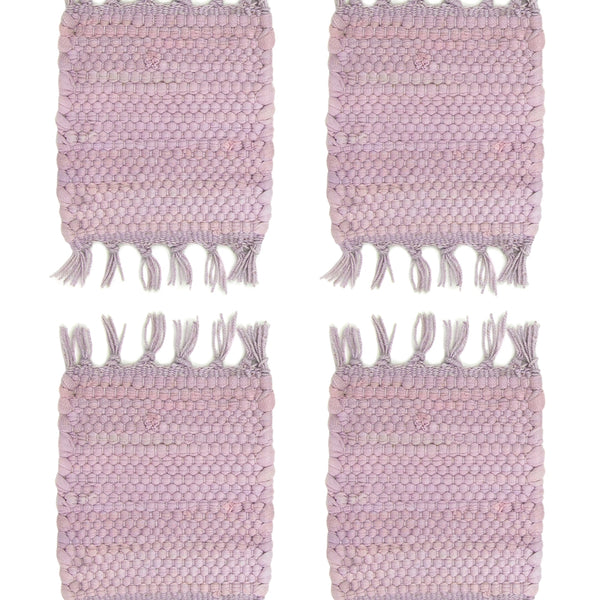 Chindi Coasters in Lilac