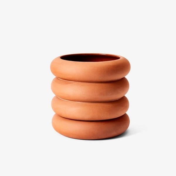 Areaware: Stacking Planter in Terracotta, Tall