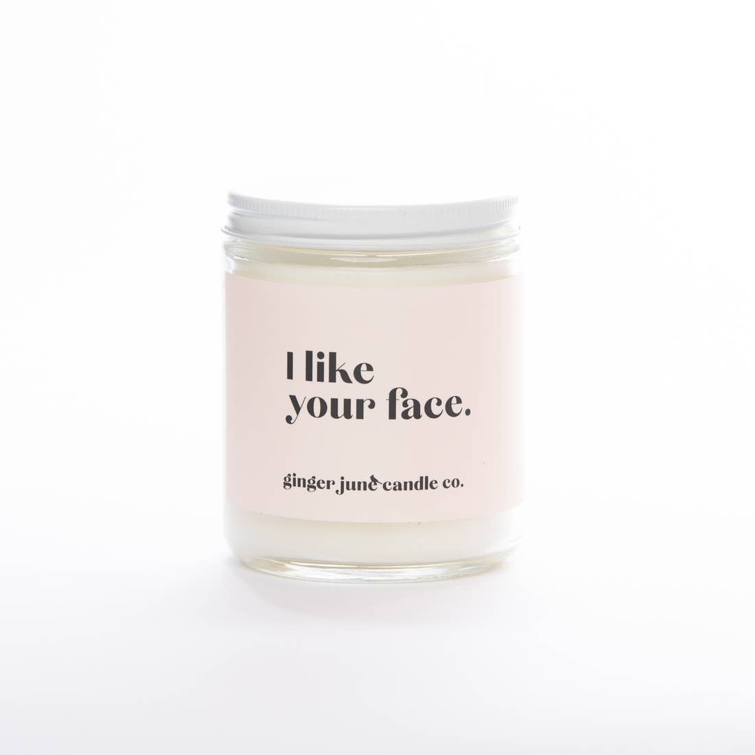 I Like Your Face Candle in Olive Leaf