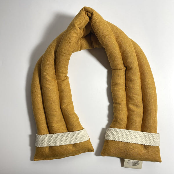 Ardent Goods: Linen Body Comfort Wrap in Marigold