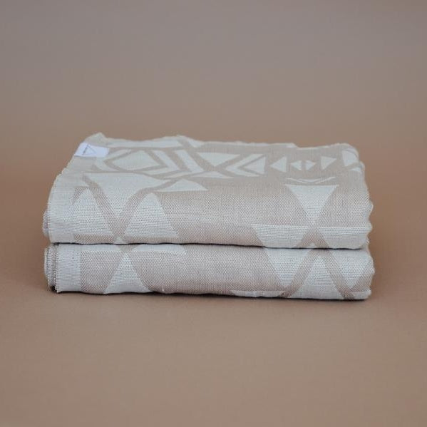 House of Jude: Oversize Turkish Towel in Willow Jacquard