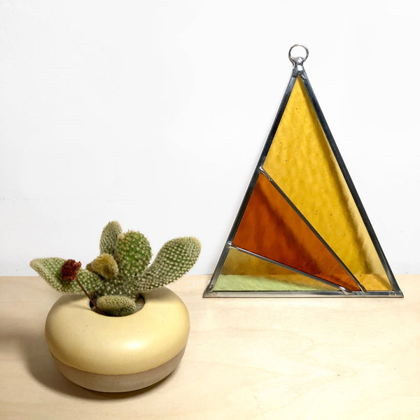 Debbie Bean: Ray's Triangle Suncatcher in Field