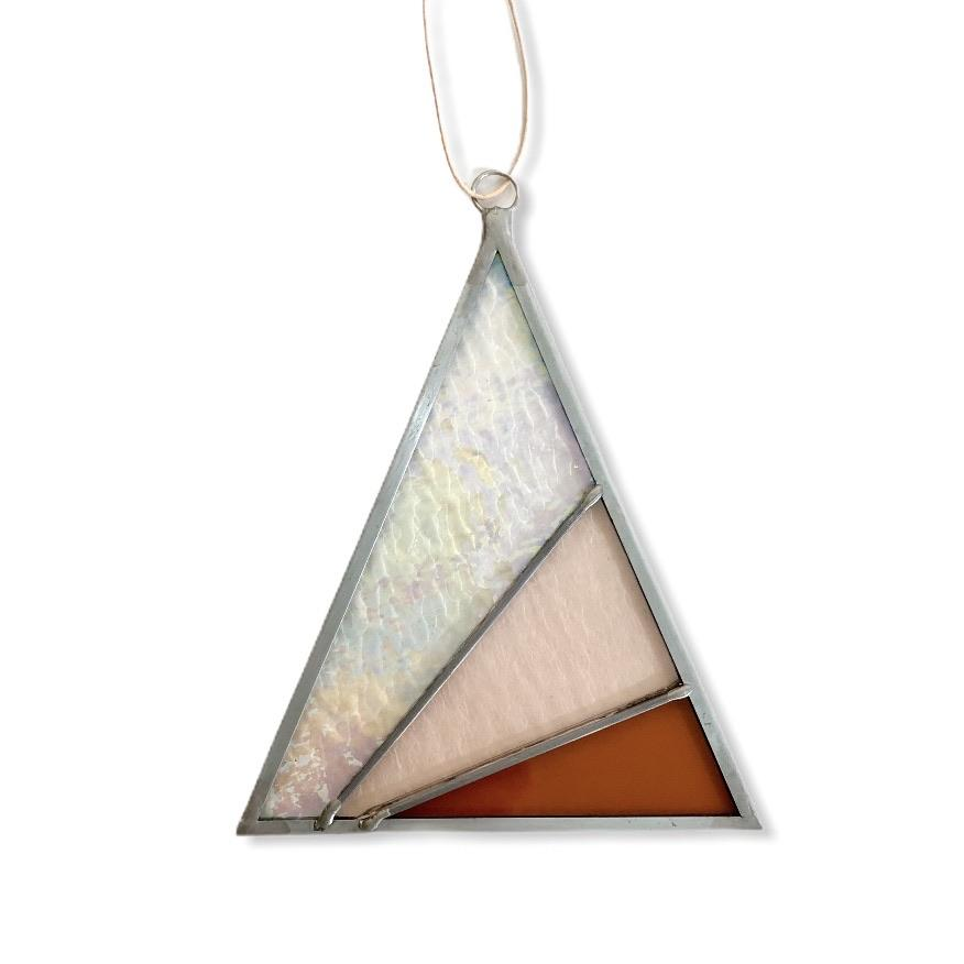 Debbie Bean: Ray's Triangle Suncatcher in Iridescent