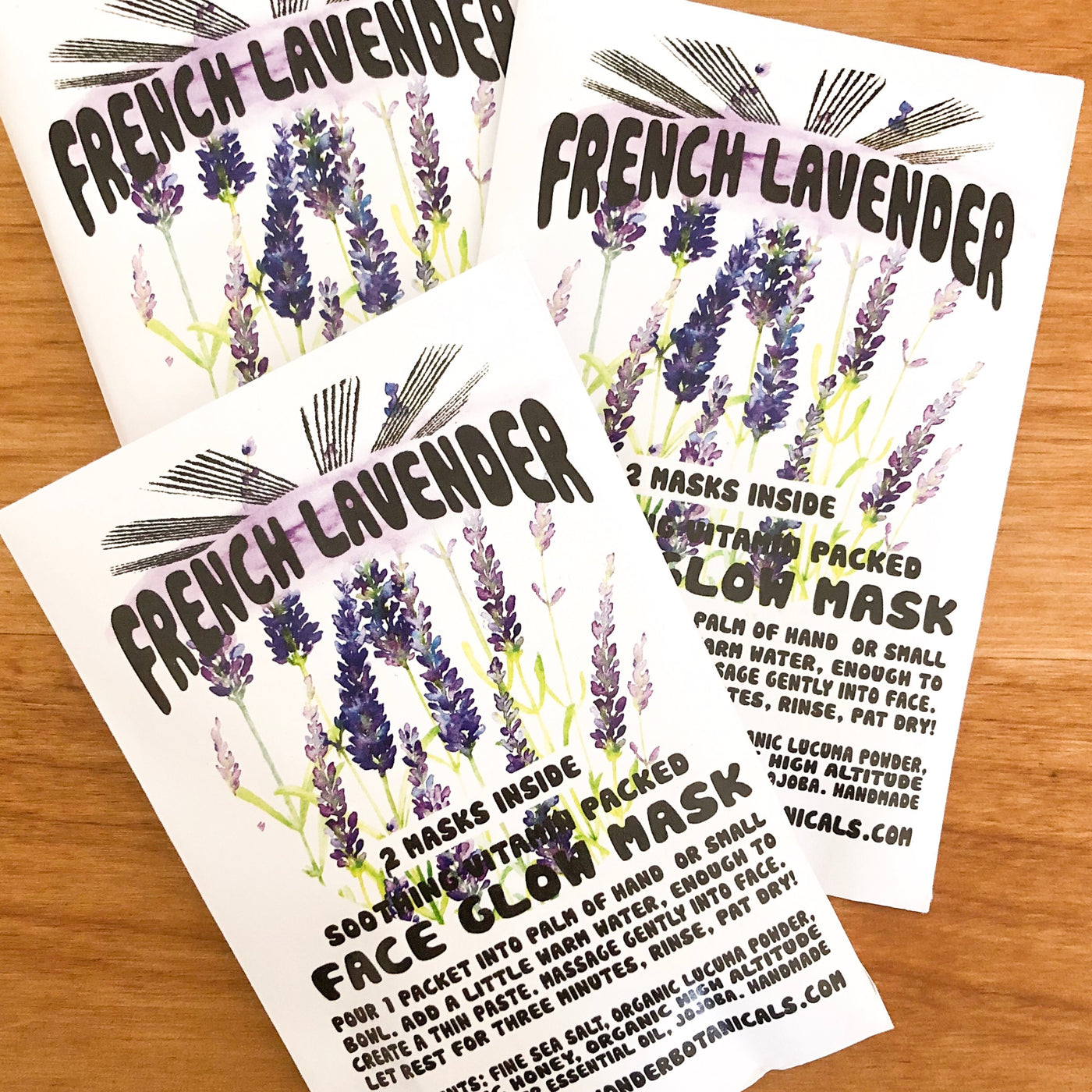 Wild Yonder Botanicals: French Lavender Face Glow Mask