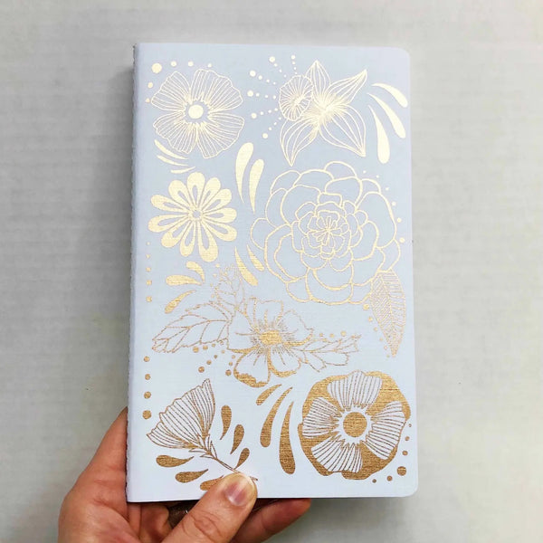 Rainbow Vision: Flower Power Notebook