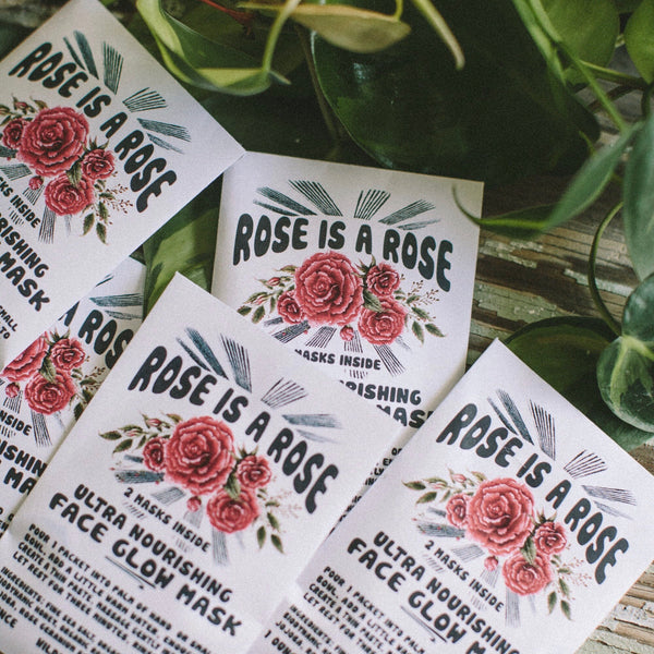Wild Yonder Botanicals: Rose is a Rose Face Glow Mask