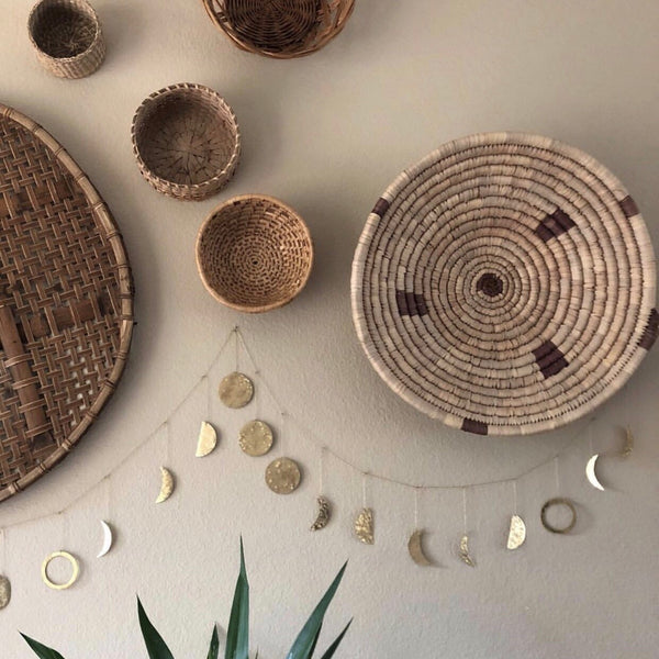 Vida + Luz Moon Phases String Garland