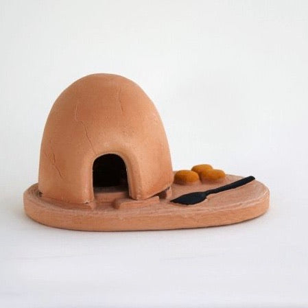 Incienso Santa Fe: Horno Incense Burner with Piñon