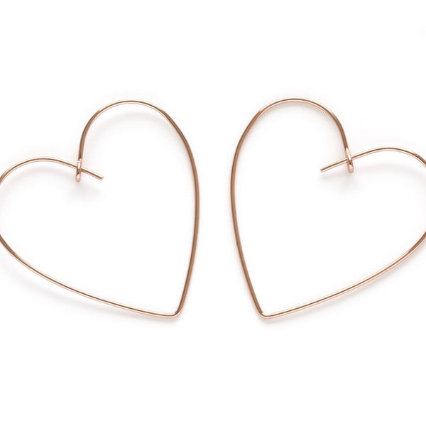 Amano Studio: Gold Heart Hoops