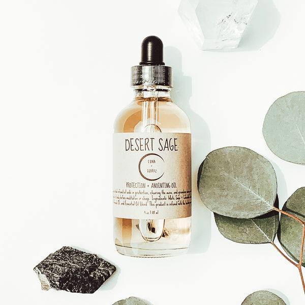 Luna & Quartz: Desert Sage Body Oil