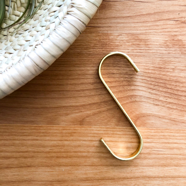 Gold S Hook for Hanging Plants
