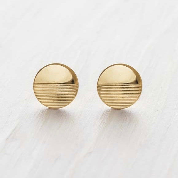 Amano Studio: Gold Horizon Stud Earrings