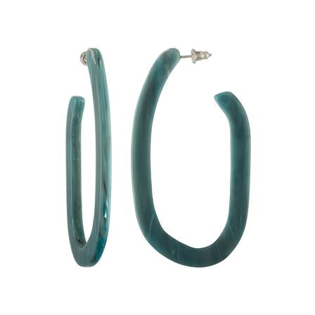 Machete: Margot X Hoops in Jadeite Green
