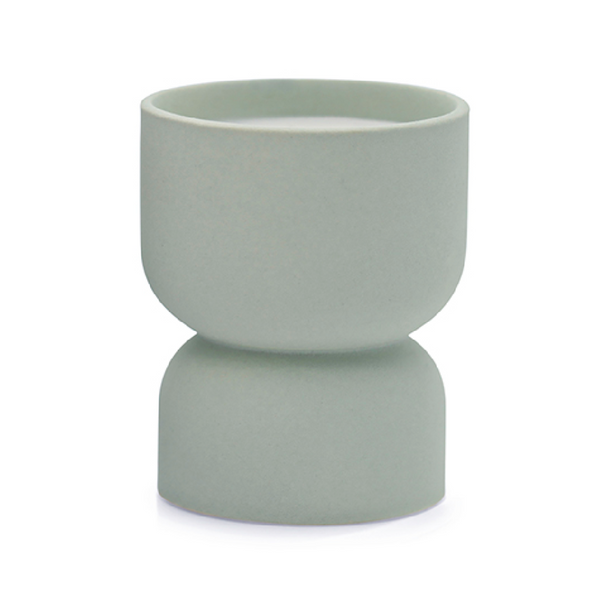 Form Hourglass Candle in Ocean Rose & Bay