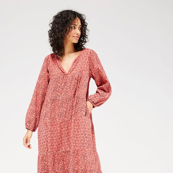 Lacausa: Savannah Dress in Rhubarb