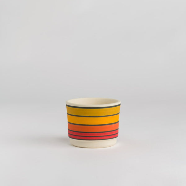 Claystreet: Small Planter in Sunrise