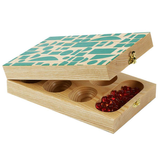 Wolfum: Mancala in Green Blocks