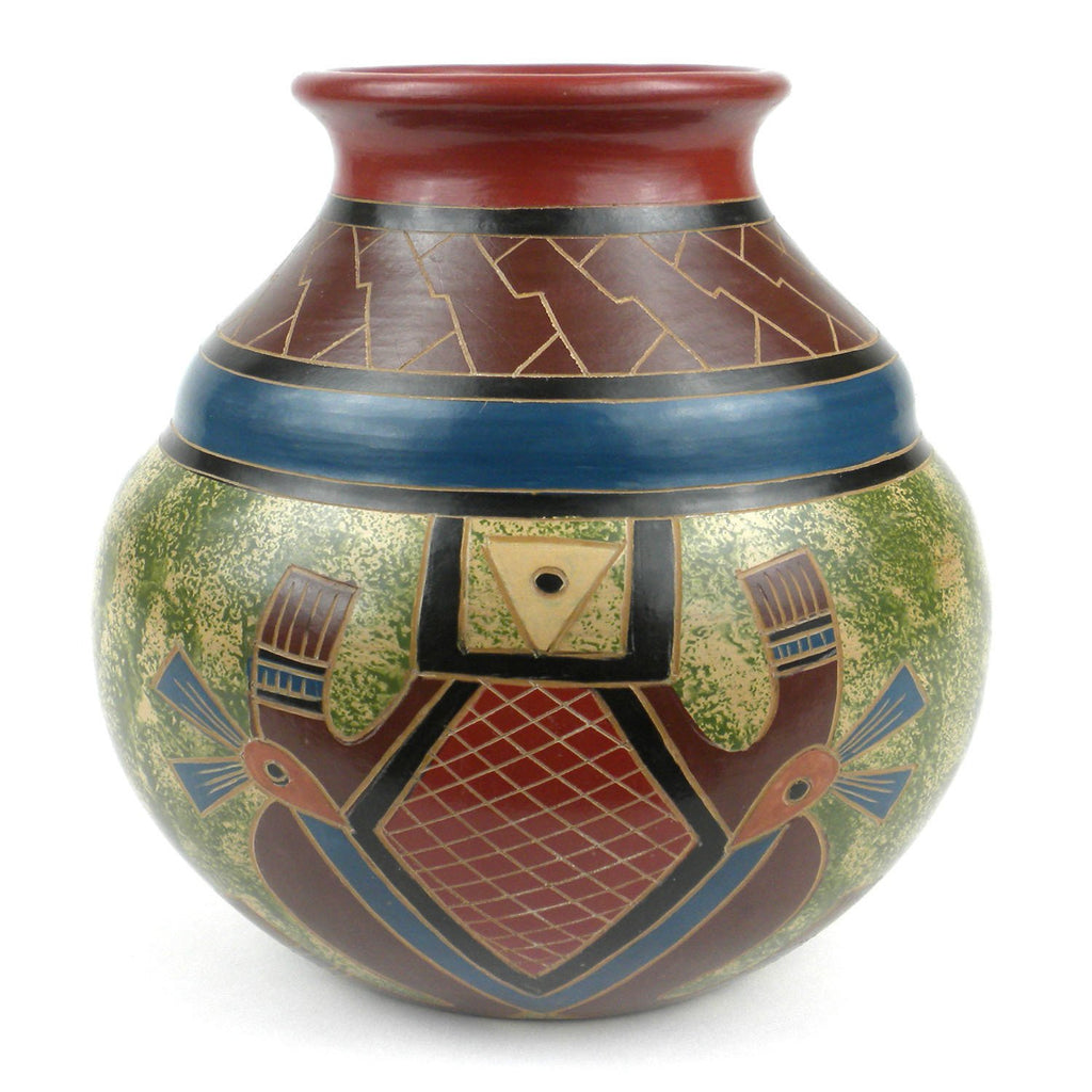 "7"" Tall Vase - Abstract  ● Esperanza en Accion Gifts and Accessories Esperanza en Accion - Mandala Sol"