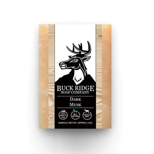 Dark Musk Handmade Soap ● Buck Ridge Supply Bath & Beauty Buck Ridge Supply - Mandala Sol
