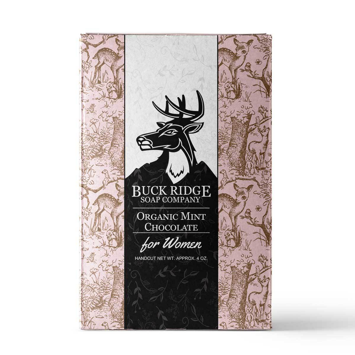 Organic Mint Chocolate Handmade Soap ● Buck Ridge Supply - Mandala Sol