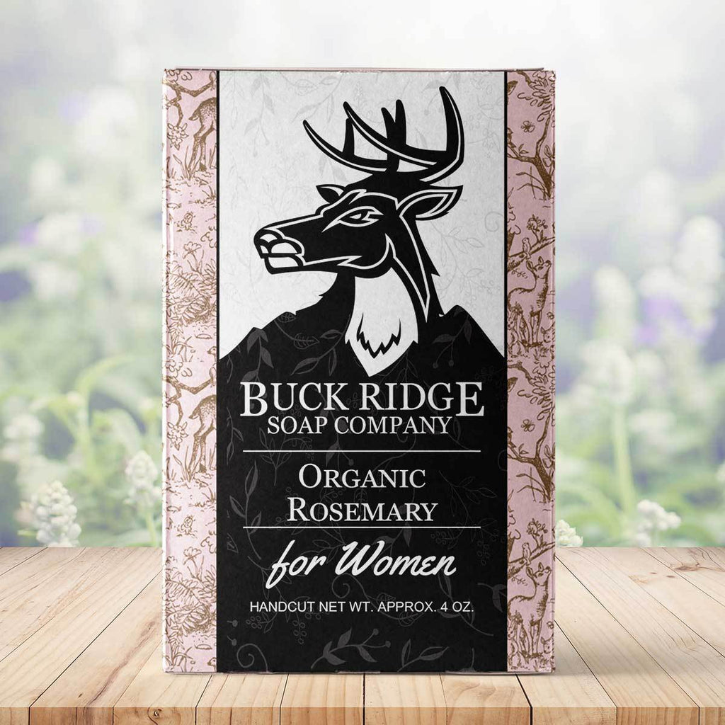 Organic Rosemary Handmade Soap ● Buck Ridge Supply Bath & Beauty Buck Ridge Supply - Mandala Sol