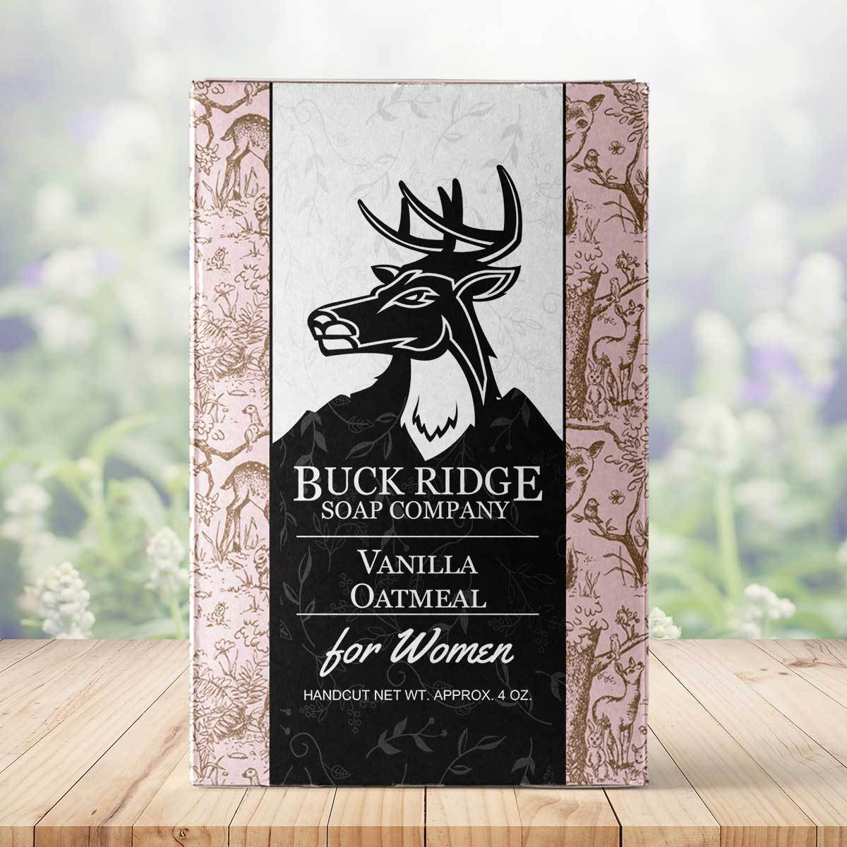 Vanilla Oatmeal Handmade Soap ● Buck Ridge Supply - Mandala Sol
