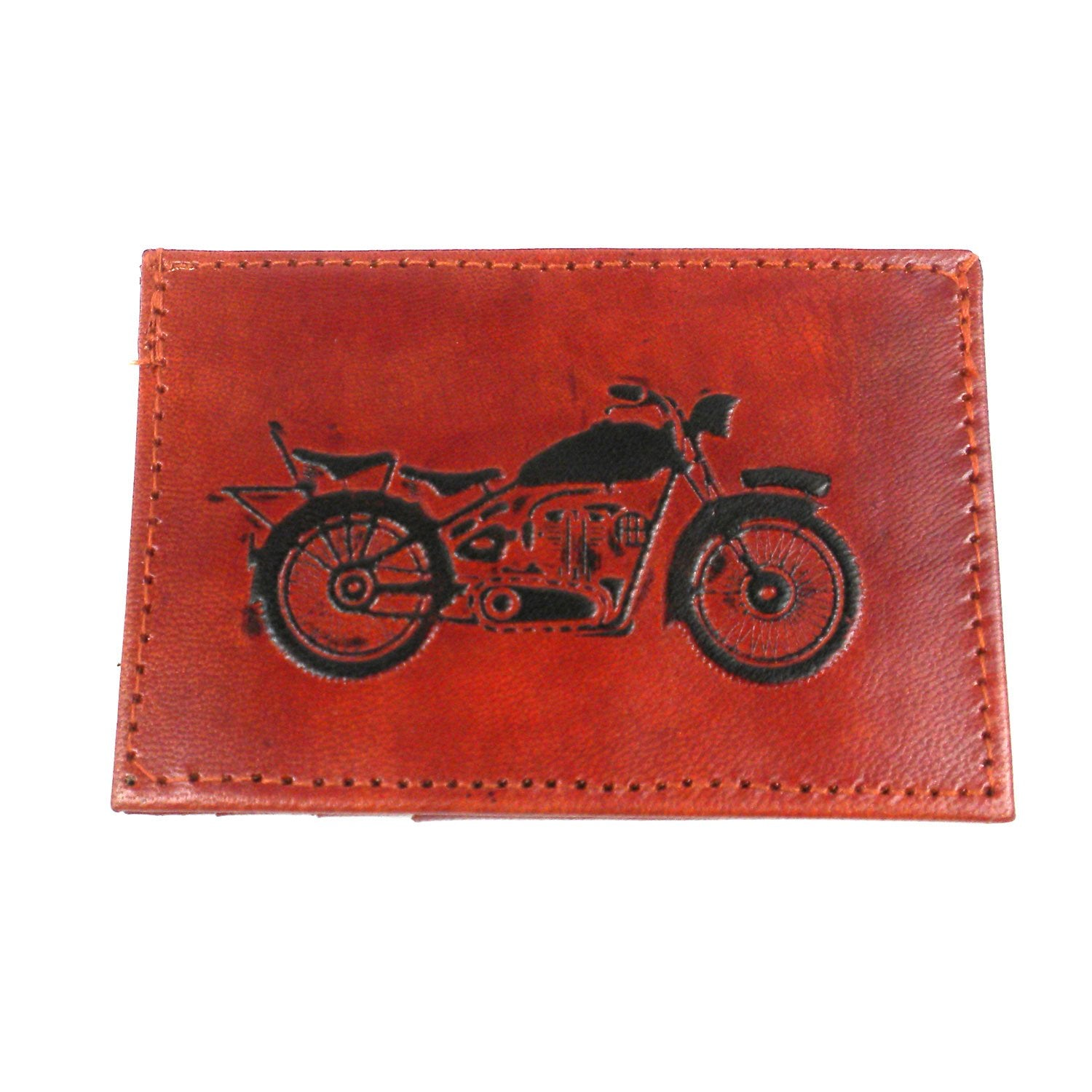 Sustainable Leather Wallet ● Open Road ● Matr Boomie - Mandala Sol