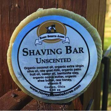 Natural Goat Milk Shaving Soap ● Honey Sweetie Acres® Personal Care Honey Sweetie Acres® - Mandala Sol