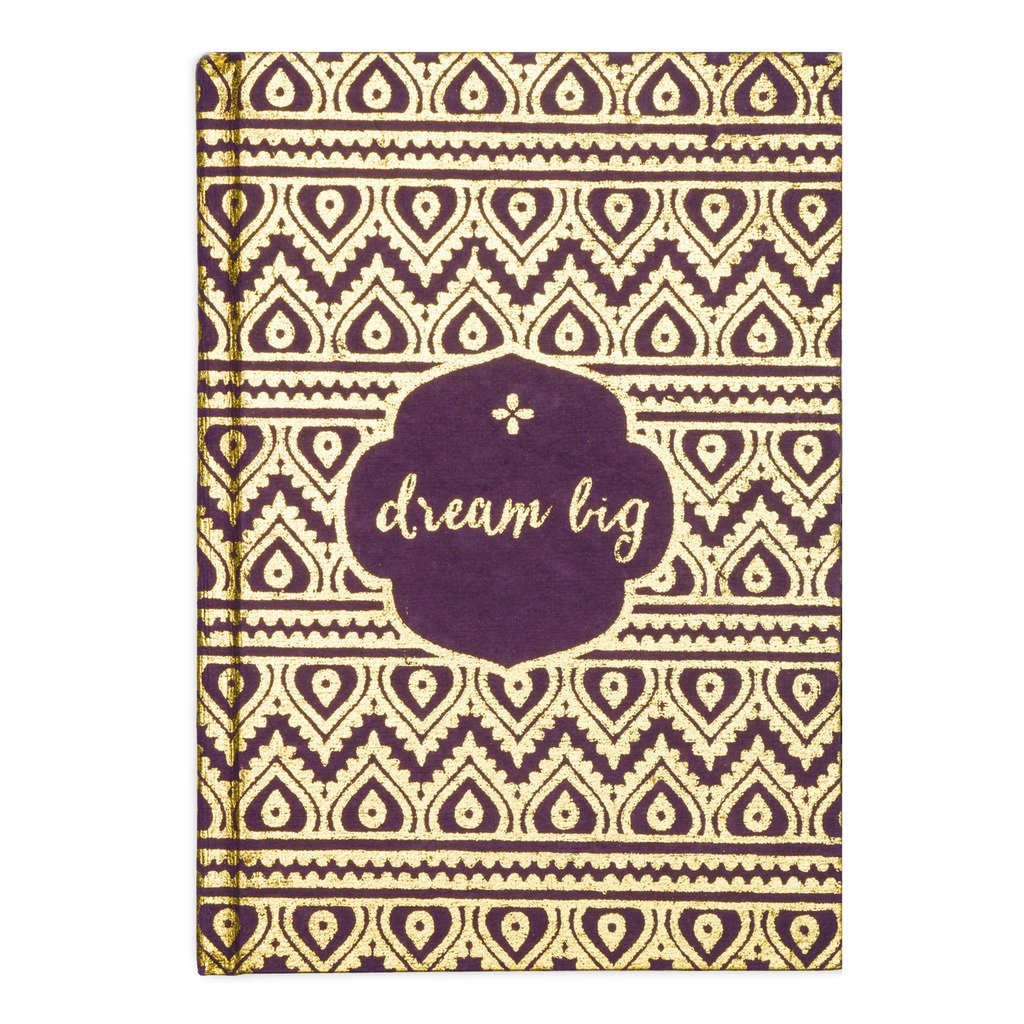 Metallic Message Journal - Dream Big Gifts and Accessories Matr Boomie - Mandala Sol