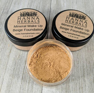 Beige Foundation ● Mineral Make Up ● Hanna Herbals Personal Care Hanna Herbals - Mandala Sol