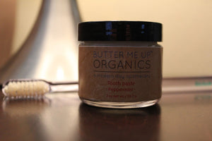 Tooth paste ● All Natural Personal Care Butter Me Up Organics - Mandala Sol