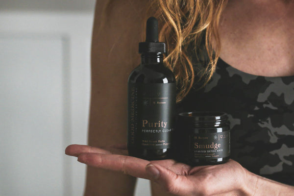 Armpit Detox with Purity + Smudge