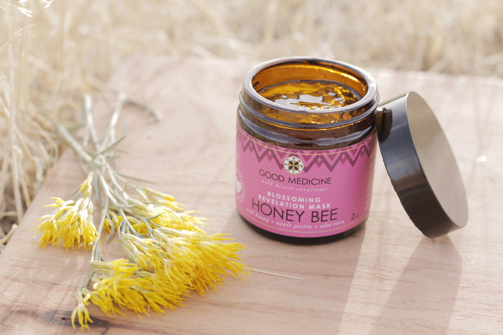 Honey Bee Blossoming Revelation Mask
