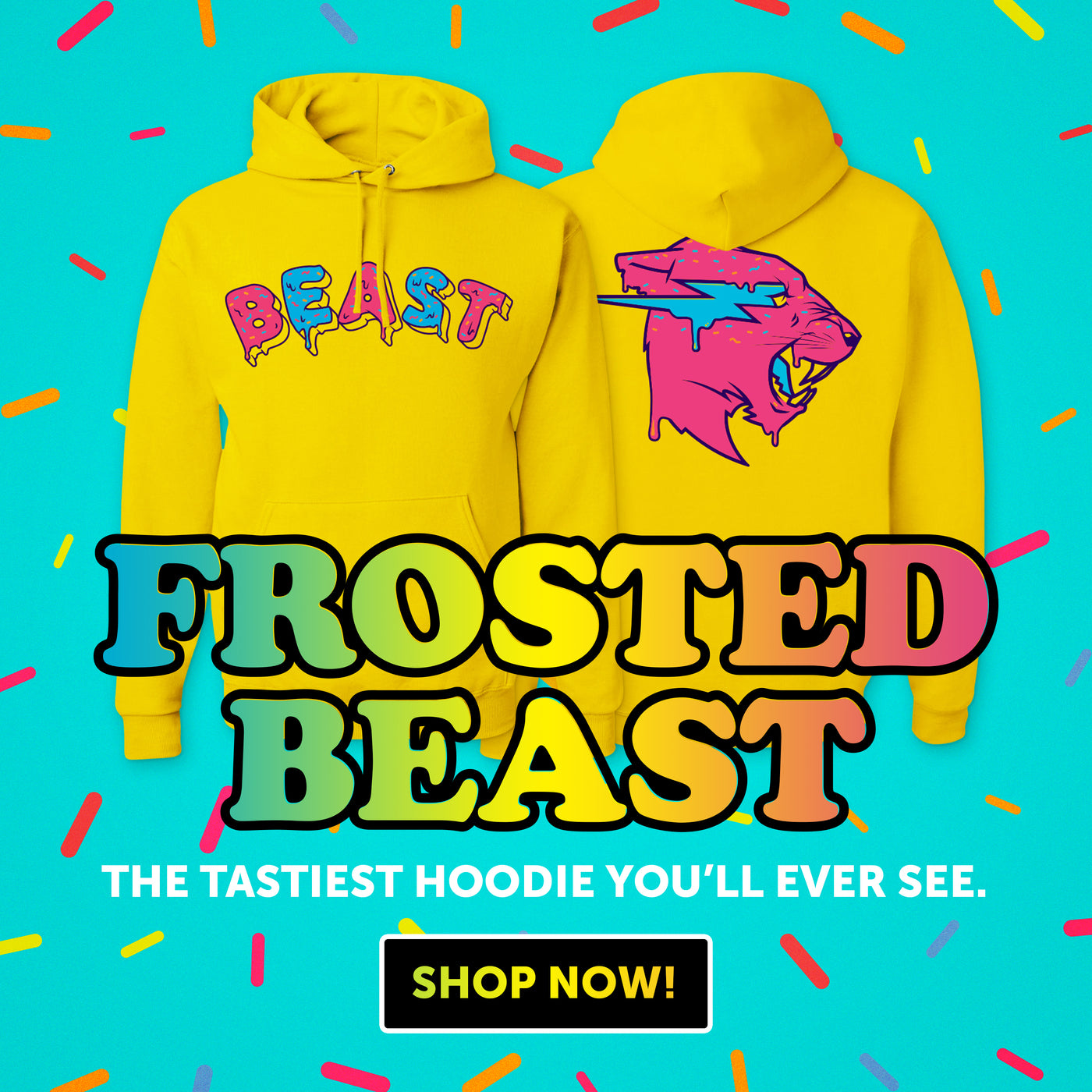 c8a45c4449c Frosted Beast Hoodie