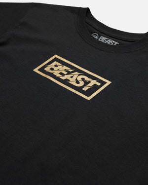 Youth 'Gold Beast' Logo Tee
