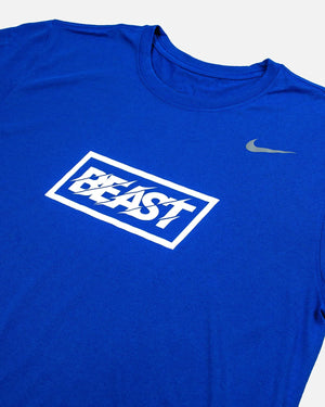 'Beast' Nike Legend Tee - Blue