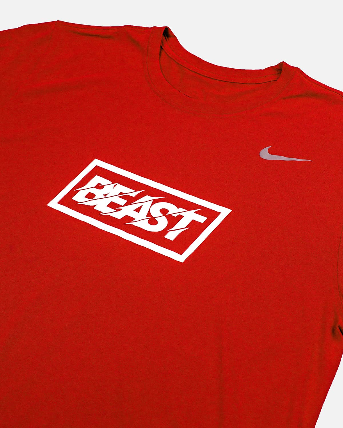 'Beast' Nike Legend Tee - Red