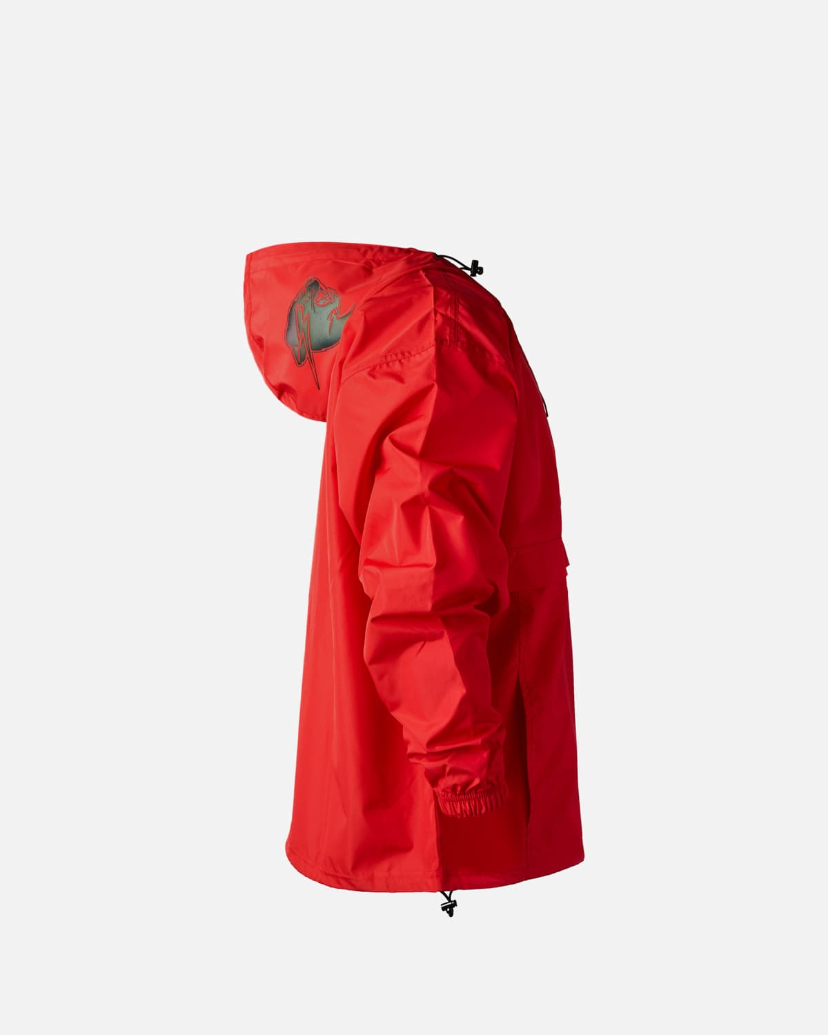 'Beast' Spectrum Reflective Champion Packable Anorak - Red