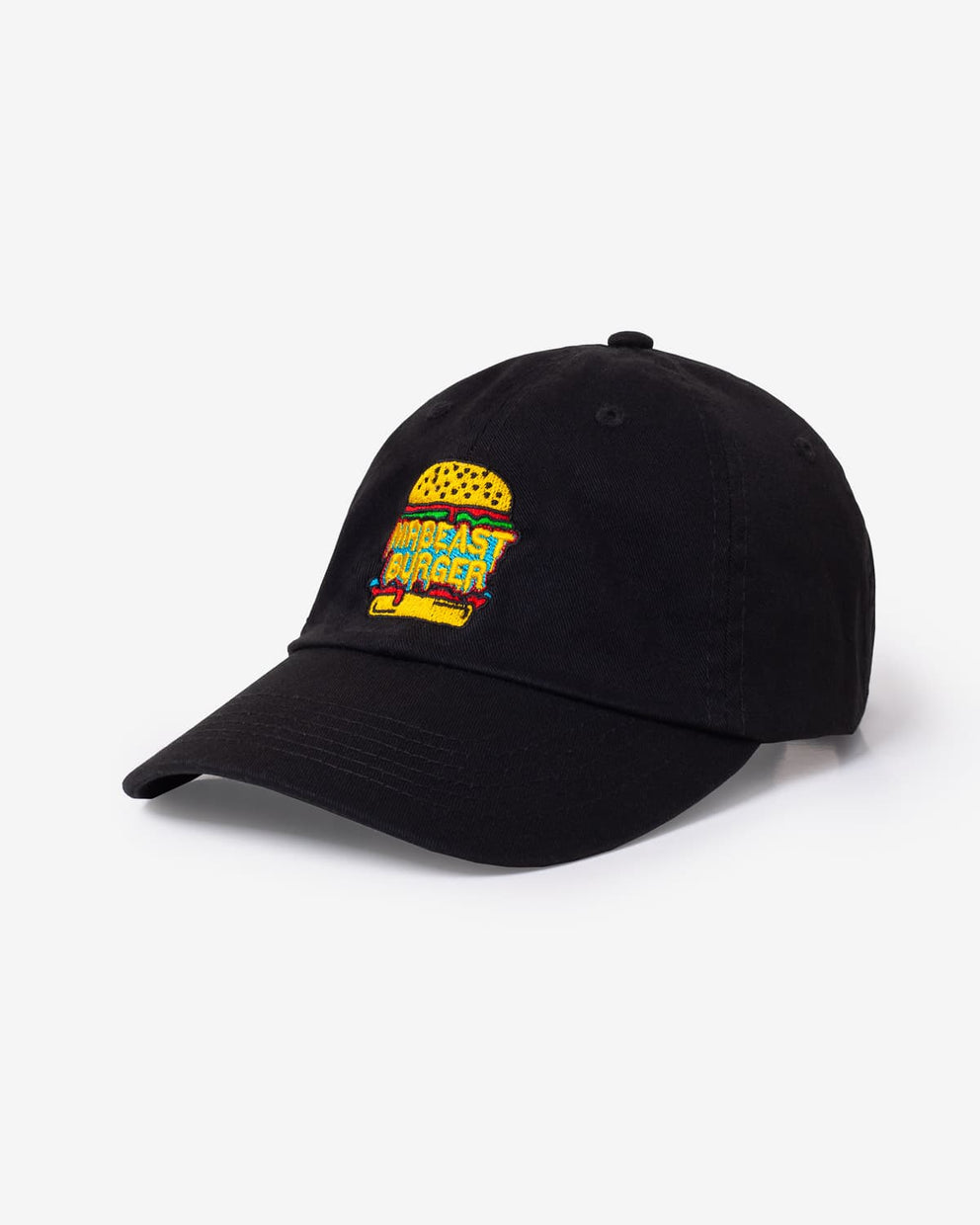 MrBeast Burger Logo Dad Hat