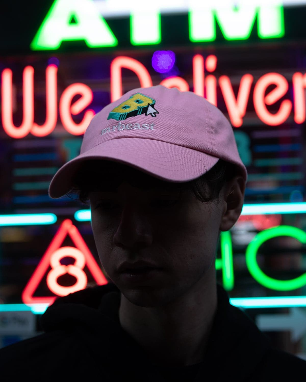 Beast 'Escapism' Dad Hat - Pink