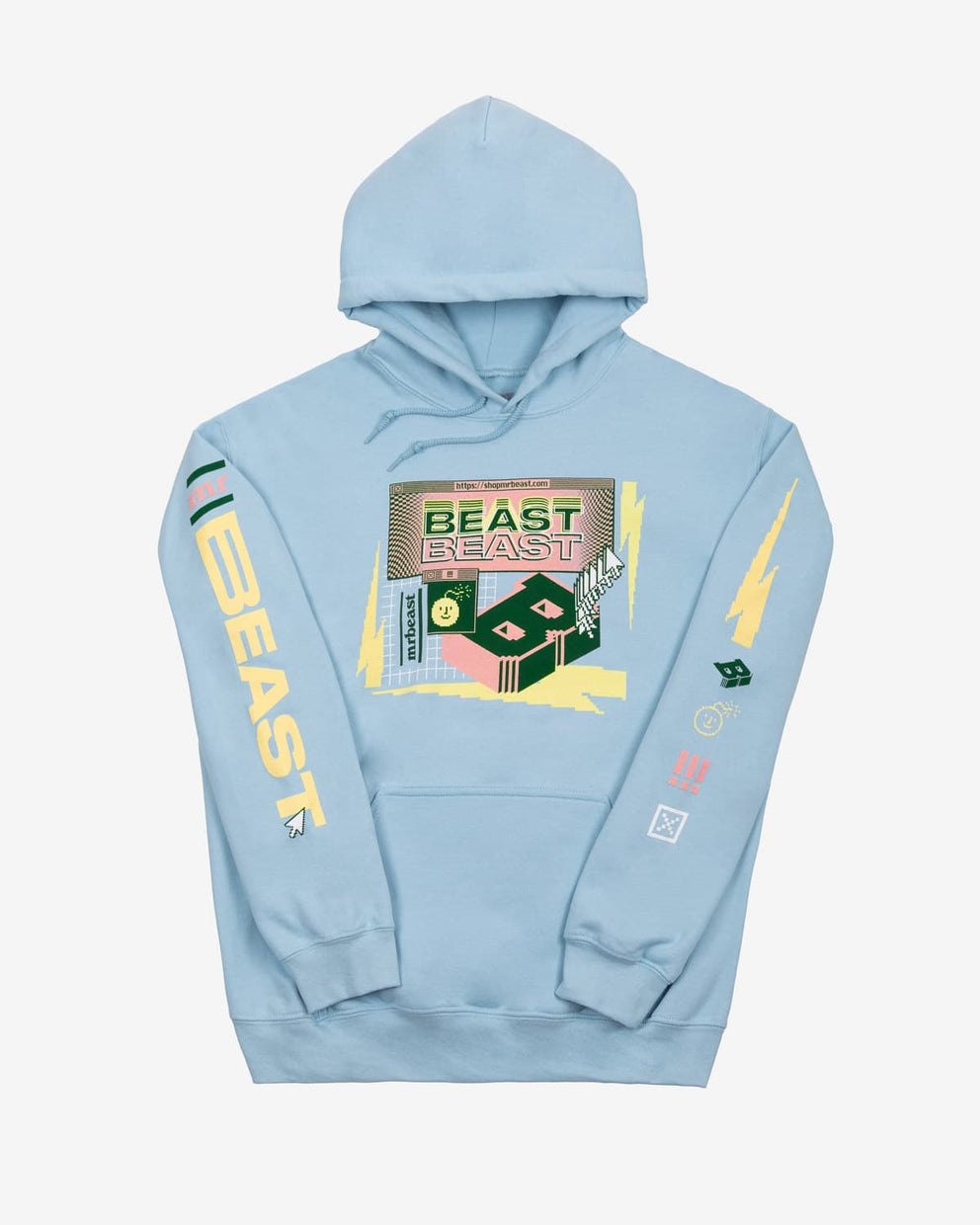 Beast 'Escapism' Hoodie - Light Blue