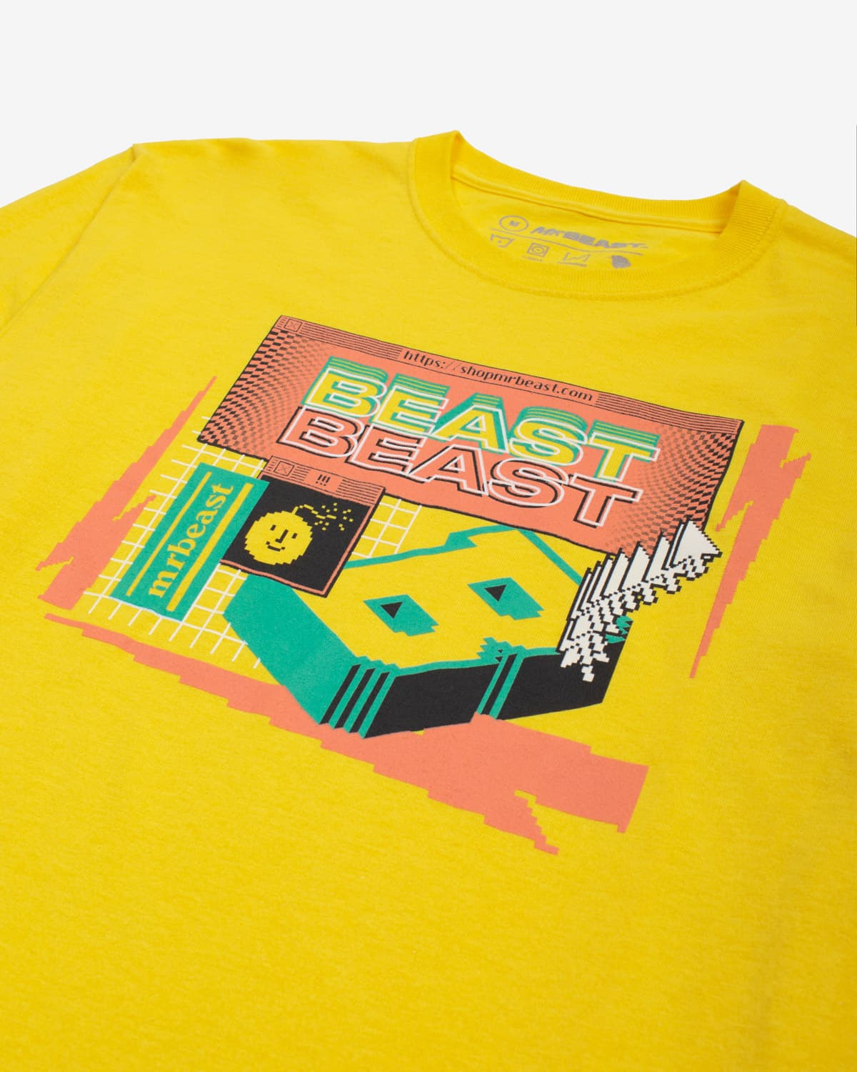 Beast 'Escapism' Long Sleeve Tee - Yellow