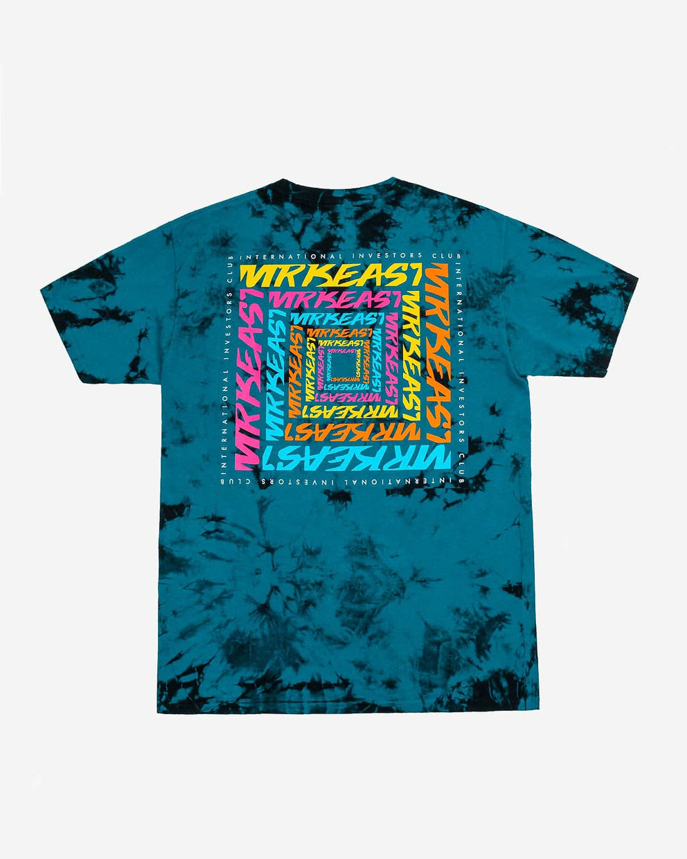 MrBeast 'Infinity Box' Crystal Wash Tee